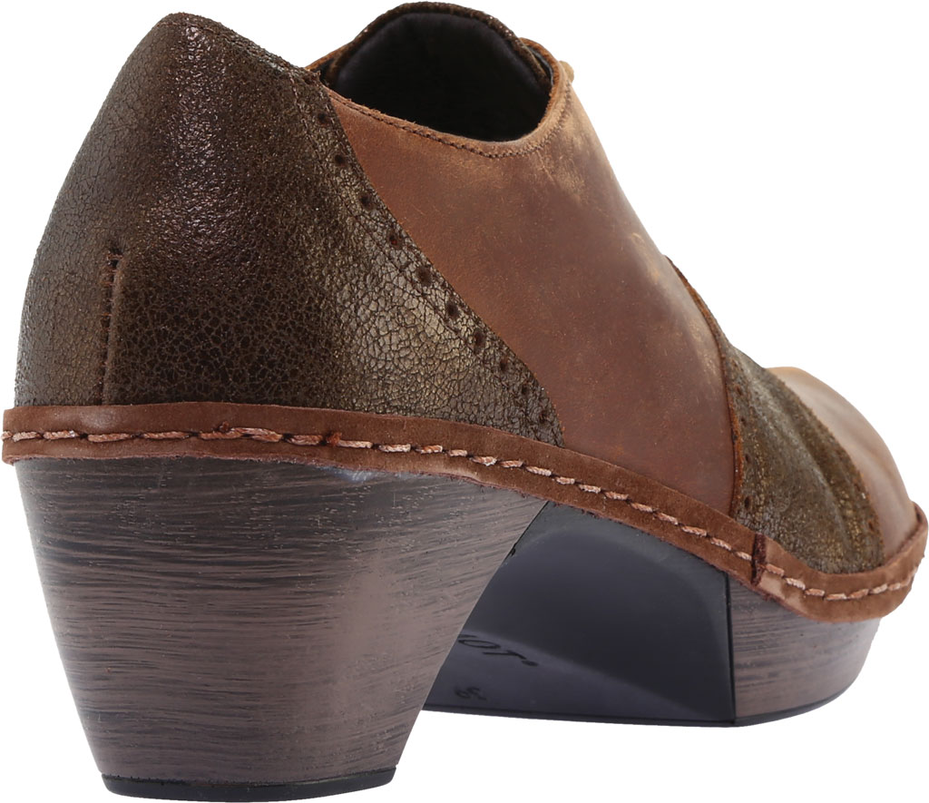 Women's Naot Besalu Oxford, Bronze Shimmer Suede/Crazy Horse Leather, large, image 4