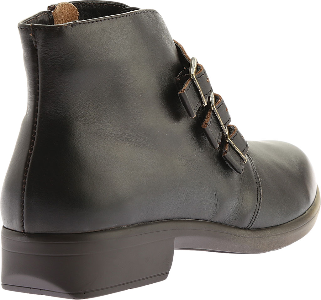 Women's Naot Calima Buckle Bootie, Volcanic Brown Leather, large, image 4