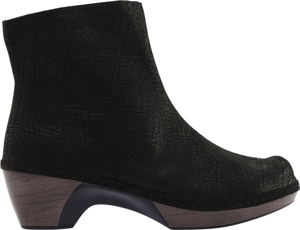 Women's Naot Almeria Ankle Boot, Brown Croc Leather, large, image 2