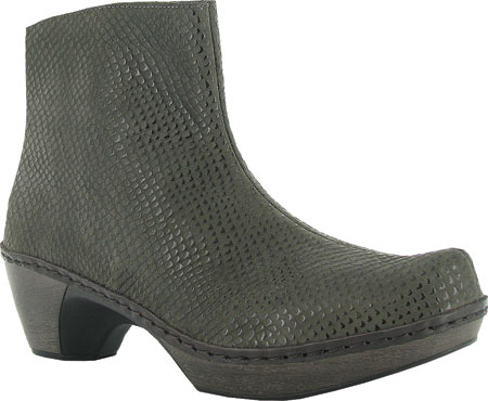 Women's Naot Almeria Ankle Boot, Brown Croc Leather, large, image 1