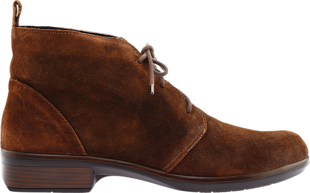 Women's Naot Levanto Lace Up Ankle Boot, Seal Brown Suede, large, image 2