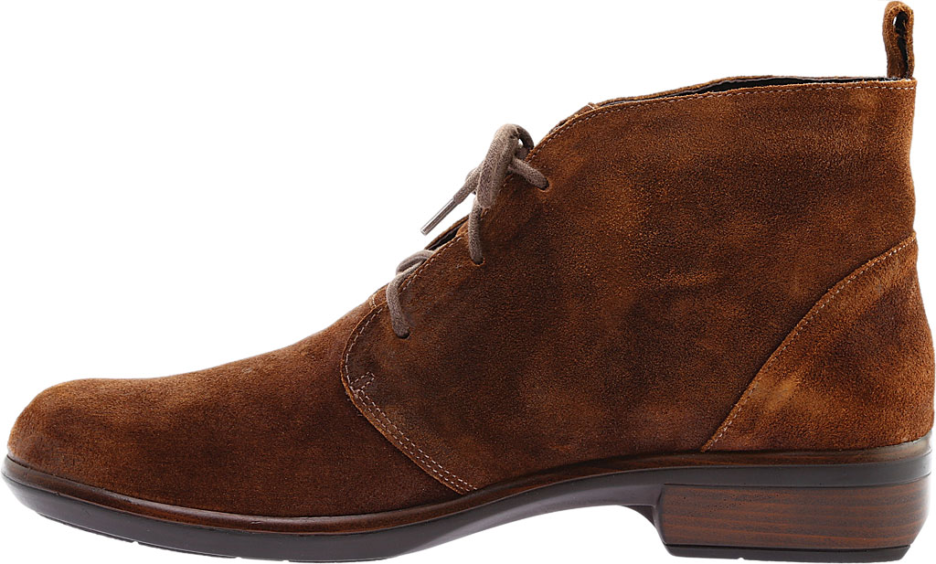 Women's Naot Levanto Lace Up Ankle Boot, Seal Brown Suede, large, image 3