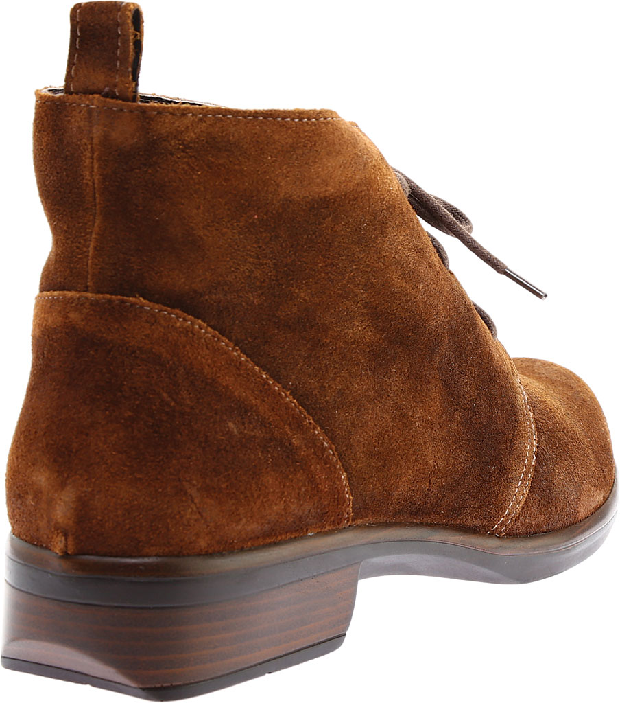 Women's Naot Levanto Lace Up Ankle Boot, Seal Brown Suede, large, image 4