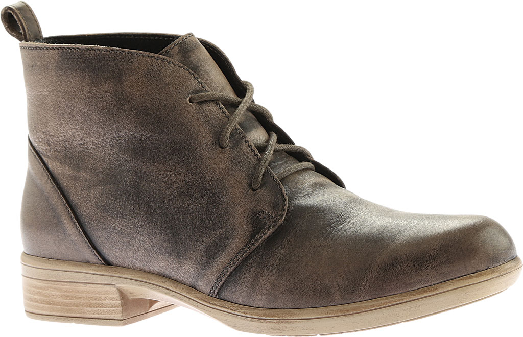 Women's Naot Levanto Lace Up Ankle Boot, Vintage Grey Leather, large, image 1