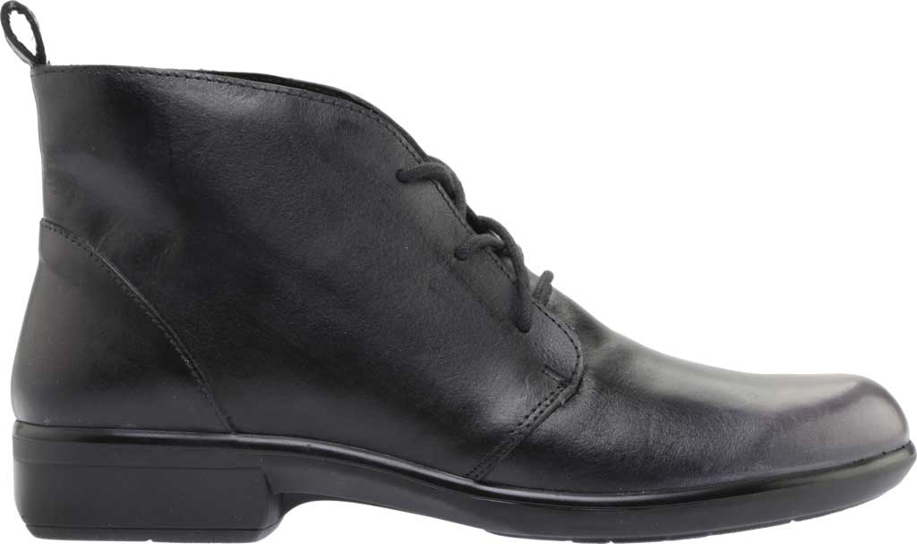 Women's Naot Levanto Lace Up Ankle Boot, Gray Black Handcrafted Leather, large, image 2