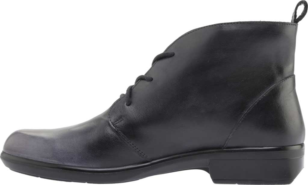 Women's Naot Levanto Lace Up Ankle Boot, Gray Black Handcrafted Leather, large, image 3