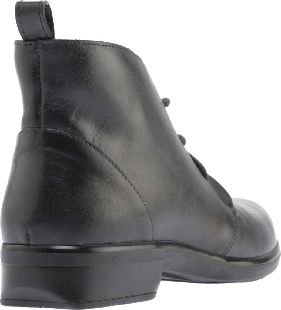 Women's Naot Levanto Lace Up Ankle Boot, Gray Black Handcrafted Leather, large, image 4