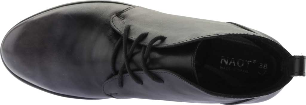 Women's Naot Levanto Lace Up Ankle Boot, Gray Black Handcrafted Leather, large, image 5