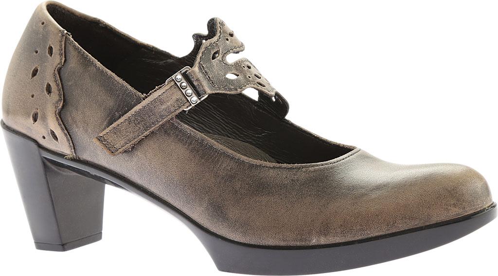 Women's Naot Amato Heeled Mary Jane, Vintage Grey Leather, large, image 1