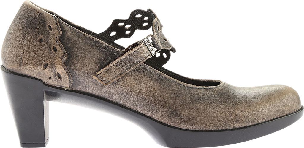 Women's Naot Amato Heeled Mary Jane, Vintage Grey Leather, large, image 2