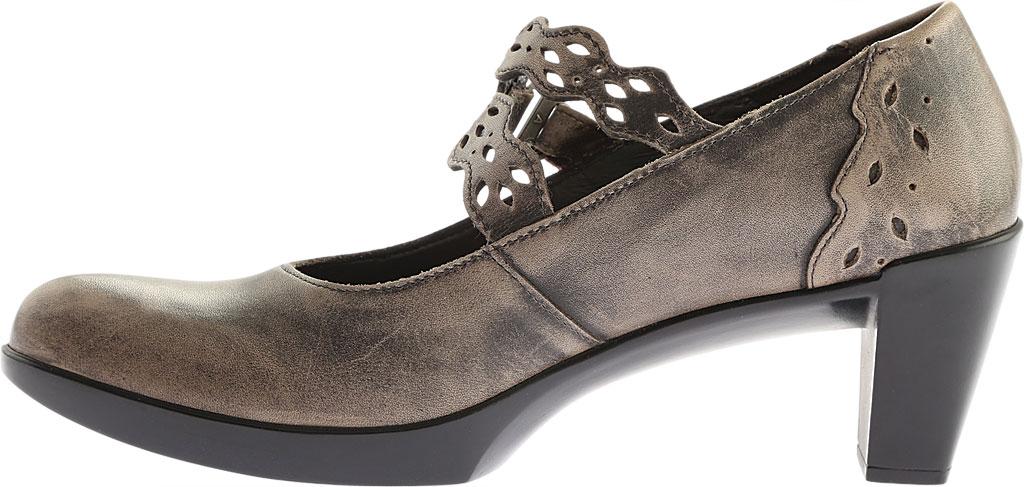 Women's Naot Amato Heeled Mary Jane, Vintage Grey Leather, large, image 3