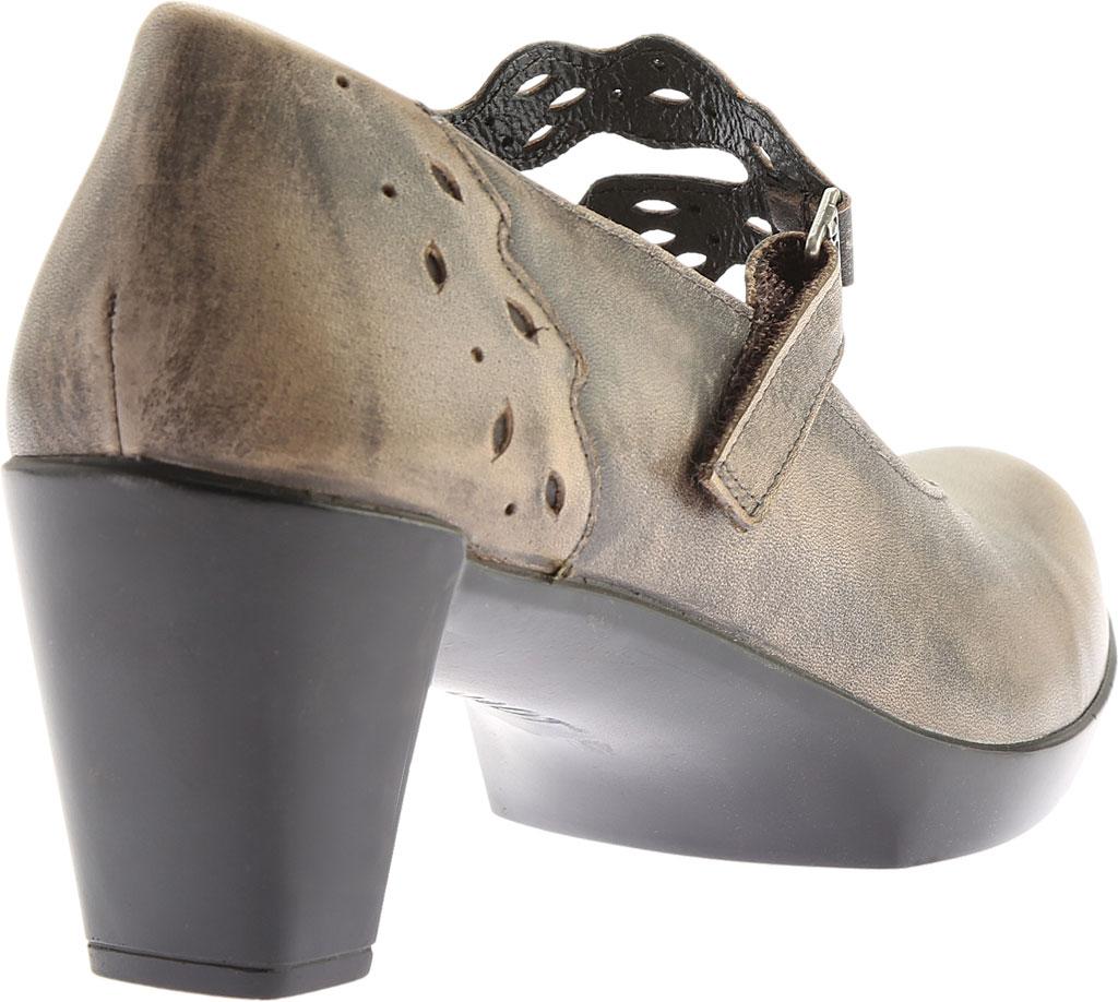 Women's Naot Amato Heeled Mary Jane, Vintage Grey Leather, large, image 4