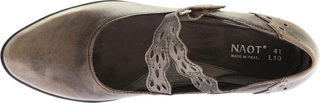 Women's Naot Amato Heeled Mary Jane, Vintage Grey Leather, large, image 5