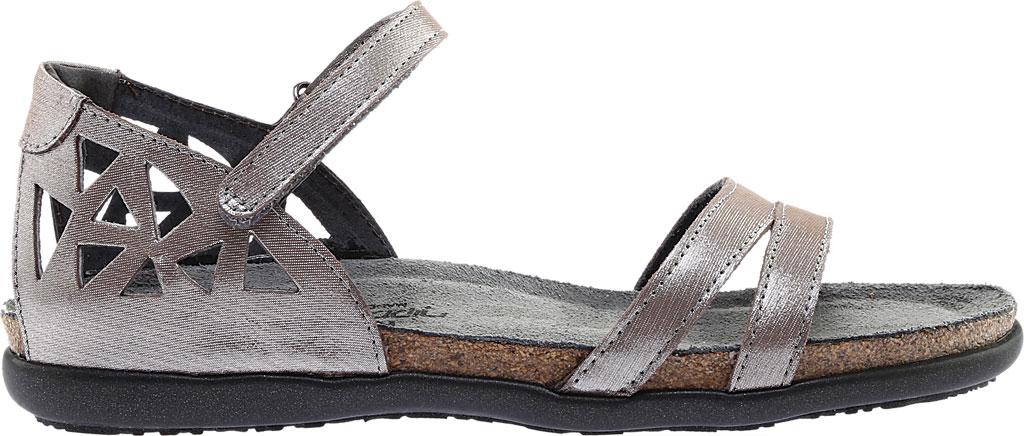 Women's Naot Bonnie Quarter Strap Sandal, Silver Threads Leather, large, image 2