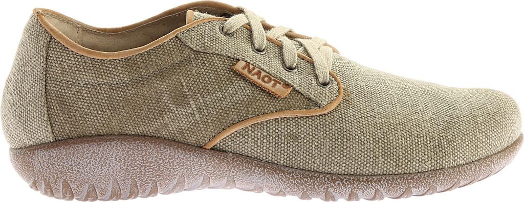 Women's Naot Tiaki Lace Up Shoe, Khaki/Biscuit Leather, large, image 2