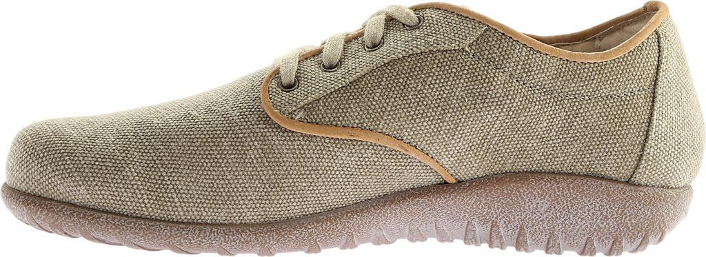 Women's Naot Tiaki Lace Up Shoe, Khaki/Biscuit Leather, large, image 3