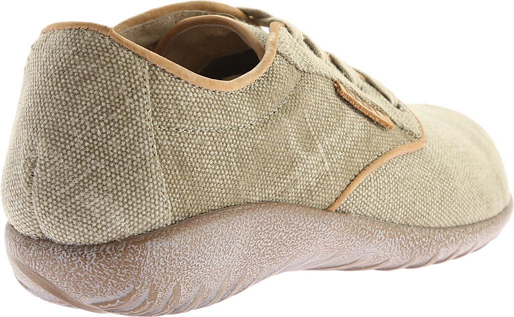 Women's Naot Tiaki Lace Up Shoe, Khaki/Biscuit Leather, large, image 4