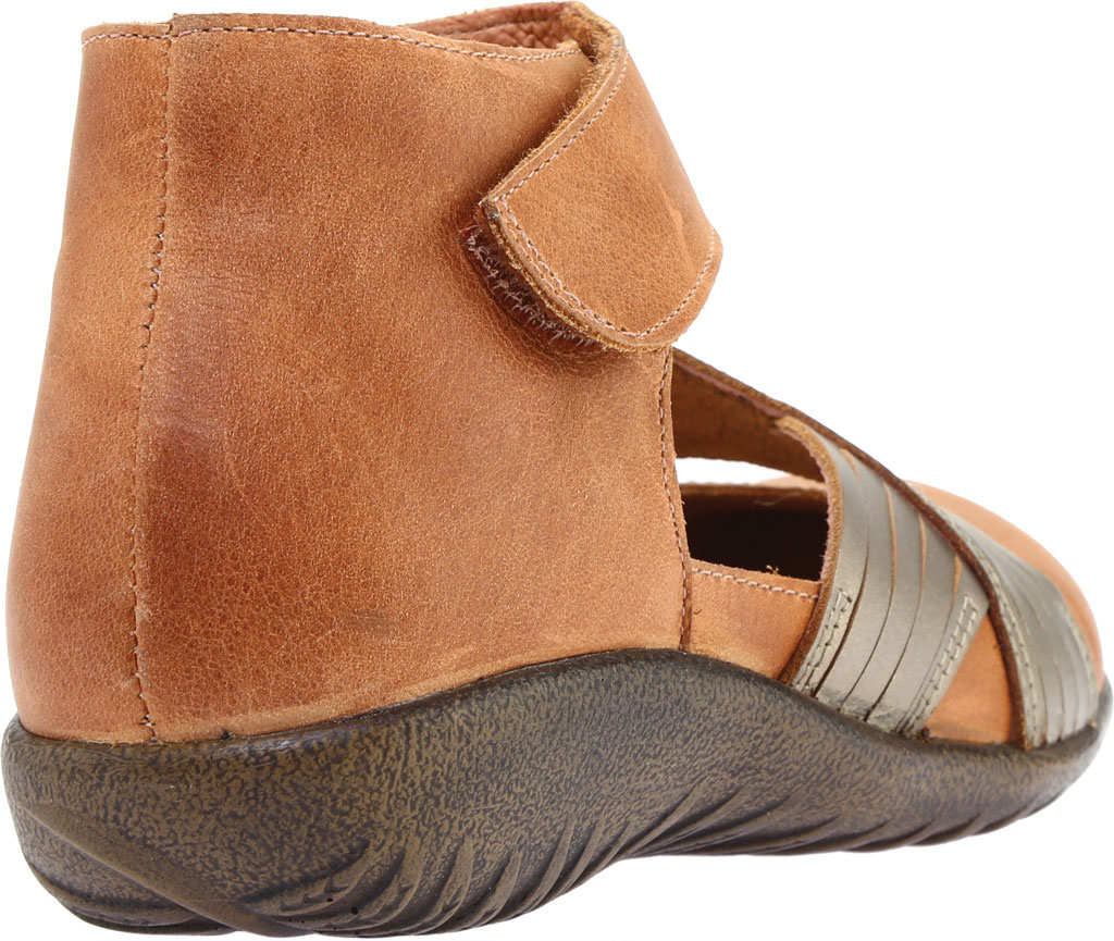 Women's Naot Tenei Ankle Strap, Latte Brown Leather/Pewter Leather, large, image 4