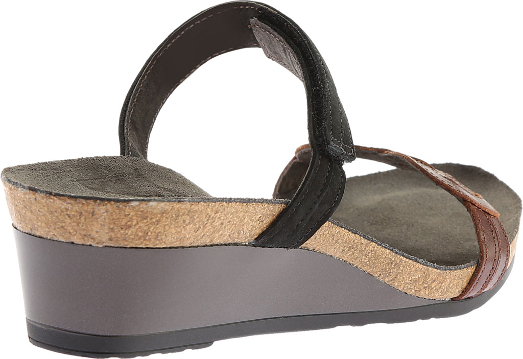 Women's Naot Folklore Slide Sandal, Silver Luster Leather/Sea Pearl Leather, large, image 4