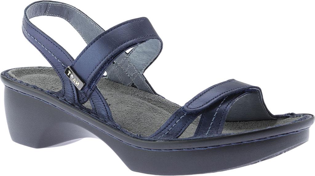 Women's Naot Brussels Adjustable Strap Sandal, Polar Sea Leather, large, image 1