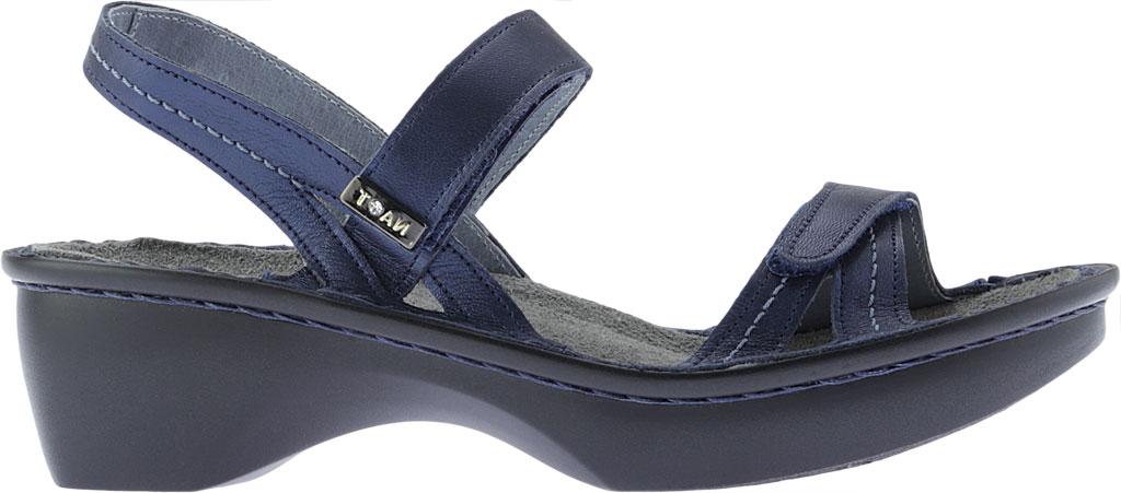Women's Naot Brussels Adjustable Strap Sandal, Polar Sea Leather, large, image 2