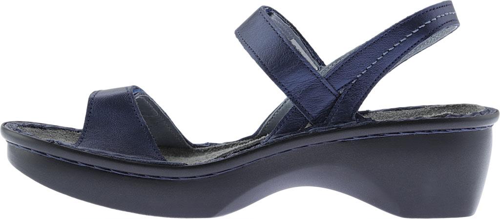 Women's Naot Brussels Adjustable Strap Sandal, Polar Sea Leather, large, image 3