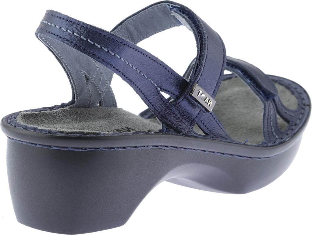 Women's Naot Brussels Adjustable Strap Sandal, Polar Sea Leather, large, image 4