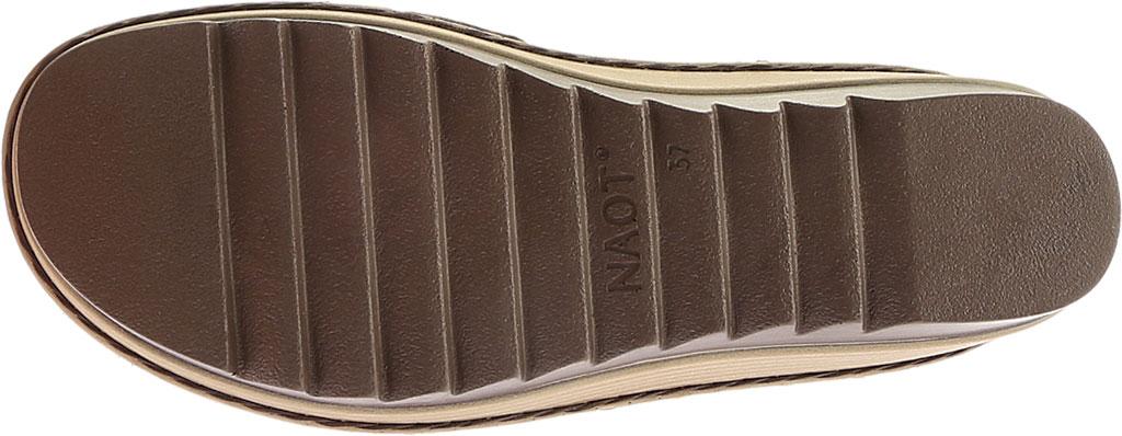 Women's Naot Begonia Ankle Strap Sandal, Mine Brown/Brown Croc/Volcanic Brn Lthr/Hash Suede, large, image 6