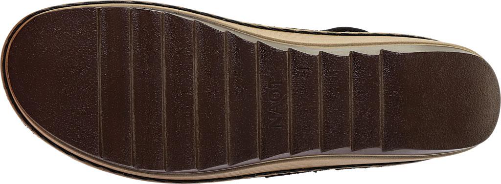 Women's Naot Begonia Ankle Strap Sandal, Black Velvet/Mtl Rd/Black Crkle Comb Leather, large, image 6