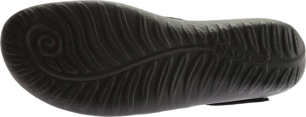 Women's Naot Luga Mary Jane, Black Lace/Oily Coal/Black Madras Nubuck/Leather, large, image 6