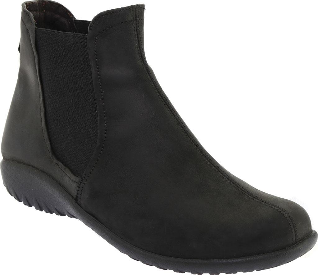 Women's Naot Remana Chelsea Boot, Oily Coal Nubuck, large, image 1