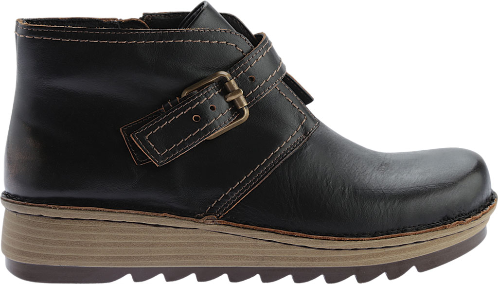 Women's Naot Luisia Ankle Boot, Volcanic Brown Leather, large, image 2