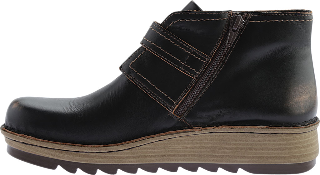 Women's Naot Luisia Ankle Boot, Volcanic Brown Leather, large, image 3