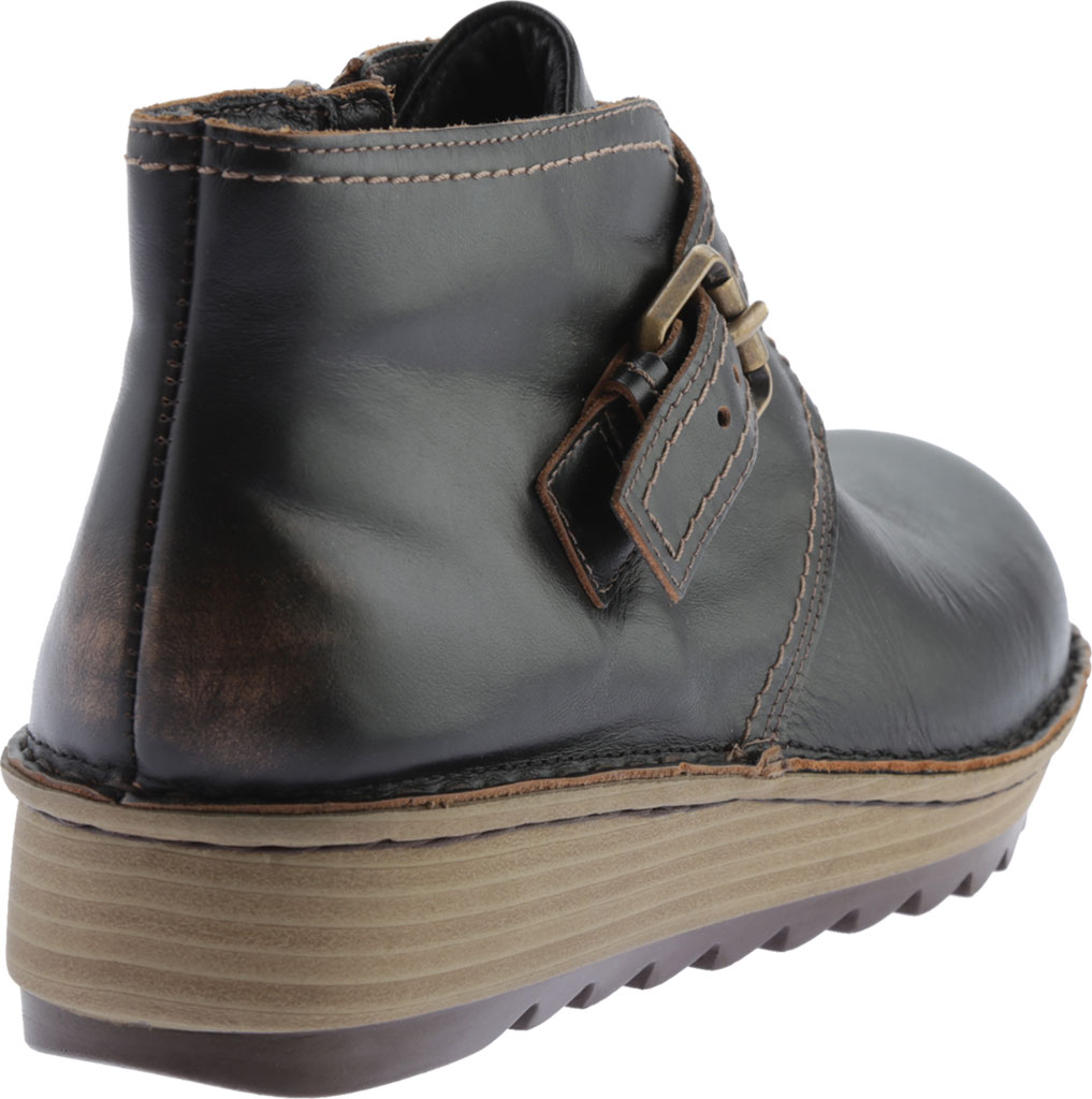 Women's Naot Luisia Ankle Boot, Volcanic Brown Leather, large, image 4