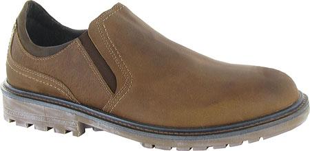 Men's Naot Manyara Slip-On, Saddle Brown Leather/Oily Brown Nubuck, large, image 1