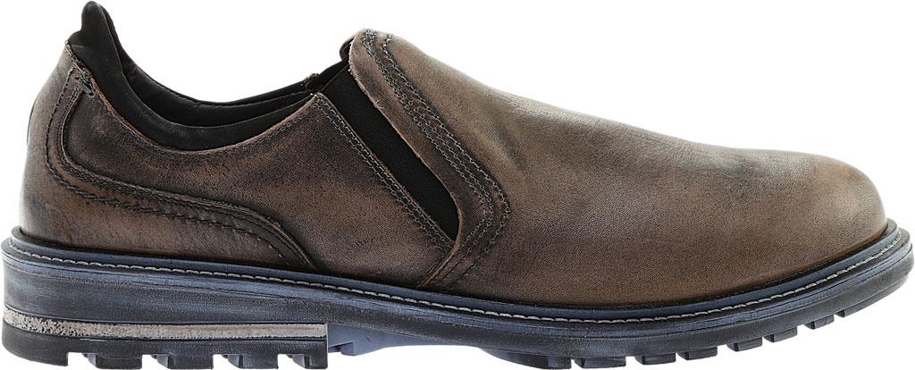 Men's Naot Manyara Slip-On, Saddle Brown Leather/Oily Brown Nubuck, large, image 2