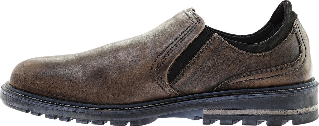Men's Naot Manyara Slip-On, Saddle Brown Leather/Oily Brown Nubuck, large, image 3