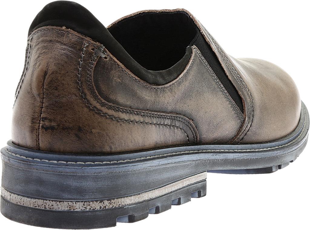 Men's Naot Manyara Slip-On, Saddle Brown Leather/Oily Brown Nubuck, large, image 4