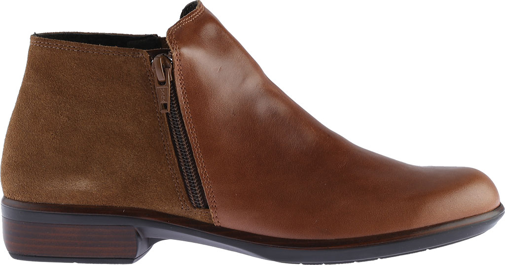 Women's Naot Helm Ankle Boot, Maple Brown/Desert Suede Leather/Suede, large, image 2