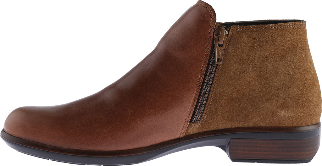 Women's Naot Helm Ankle Boot, Maple Brown/Desert Suede Leather/Suede, large, image 3