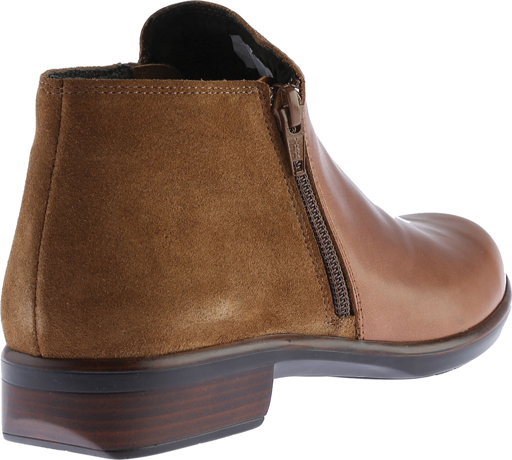Women's Naot Helm Ankle Boot, Maple Brown/Desert Suede Leather/Suede, large, image 4