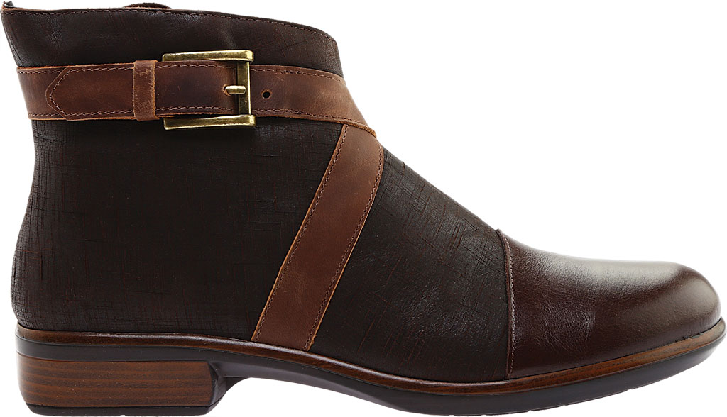 Women's Naot Boreas Ankle Boot, Walnut/Mine Brown/Saddle Leather, large, image 2