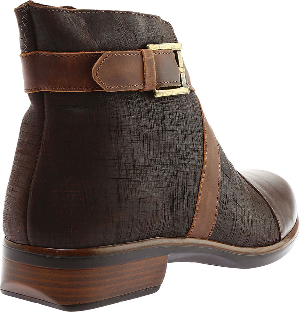 Women's Naot Boreas Ankle Boot, Walnut/Mine Brown/Saddle Leather, large, image 4