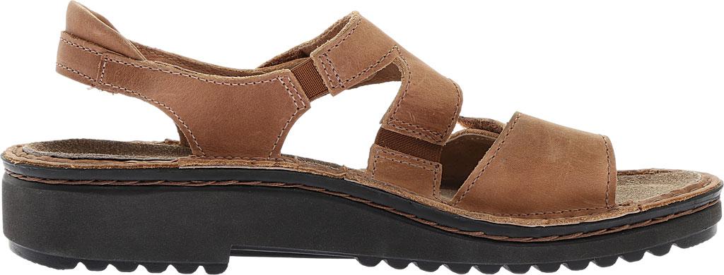 Women's Naot Enid Flat Sandal, Latte Brown Leather, large, image 2