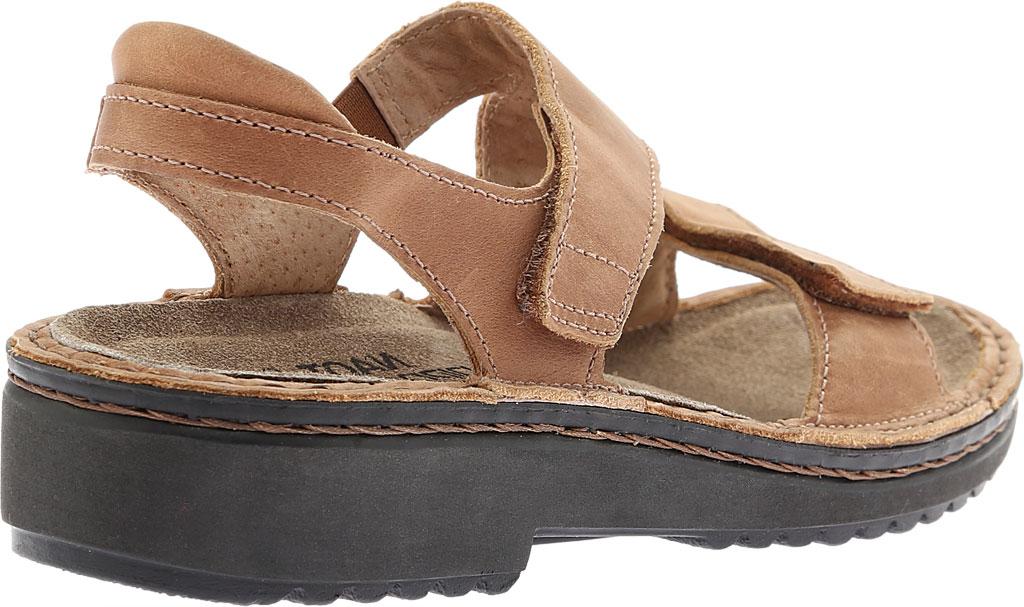 Women's Naot Enid Flat Sandal, Latte Brown Leather, large, image 4