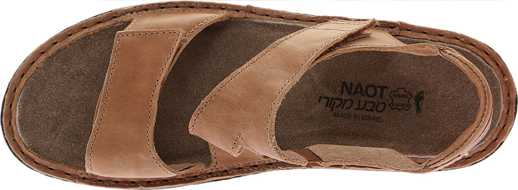 Women's Naot Enid Flat Sandal, Latte Brown Leather, large, image 5