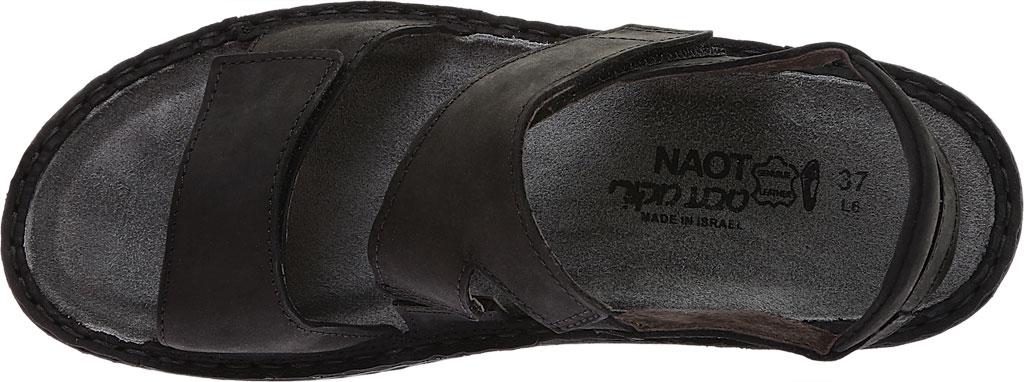 Women's Naot Enid Flat Sandal, Oily Coal Nubuck, large, image 5