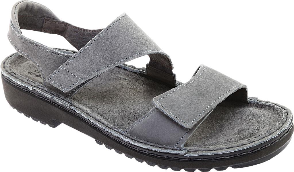 Women's Naot Enid Flat Sandal, Vintage Slate Leather, large, image 1