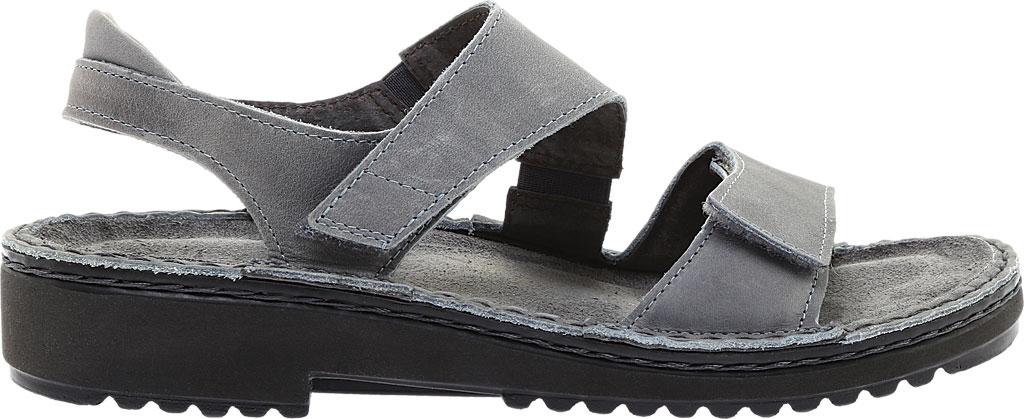 Women's Naot Enid Flat Sandal, Vintage Slate Leather, large, image 2