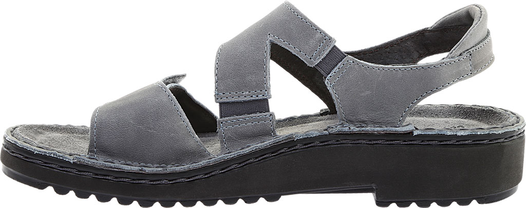 Women's Naot Enid Flat Sandal, Vintage Slate Leather, large, image 3